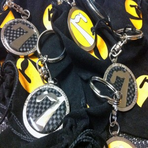 7tune Carbon Fibre Keyrings