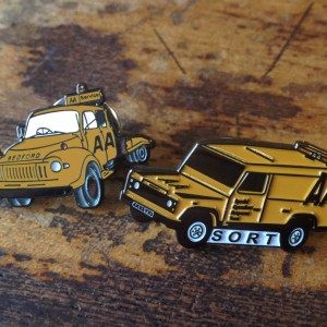 AA Trucks Lapel Pins