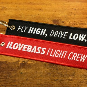 I Love Bass Luggage Tag