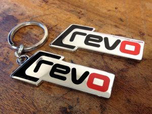 Revo Keychain And Wing Plaque