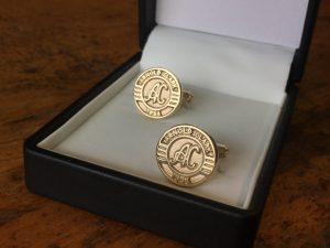 Arnold Clark 1954 9ct Gold Cufflinks