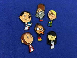 Scandinavia And The World Character Badges