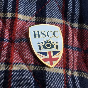 Historic Sports Car Club Lapel Pin
