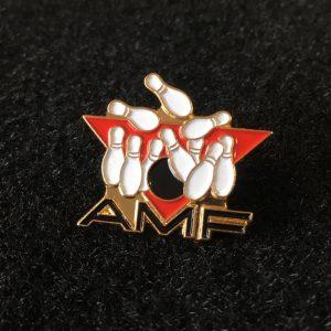 AMF Bowling Lapel Pin