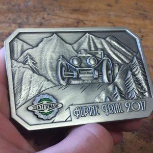 Frazer Nash Alpine Trial 2017 Medal