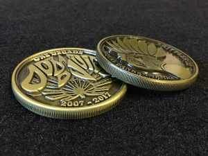 Dodo Juice Decade Coin Side View
