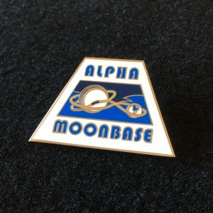 Moonbase Alpha Enamel Badge