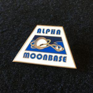 Moonbase Alpha Enamel Badge