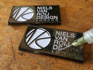 Niels Van Roij Design Car Badge Enamelling