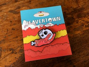 Beavertown Brewery Skull Enamel Badge