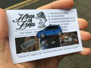 VW Lupo Badge - Soft Blue