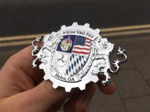 EuroTripper Grill Badge