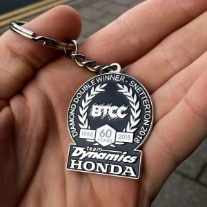 Team-Dynamics BTCC Diamond Double Keyring