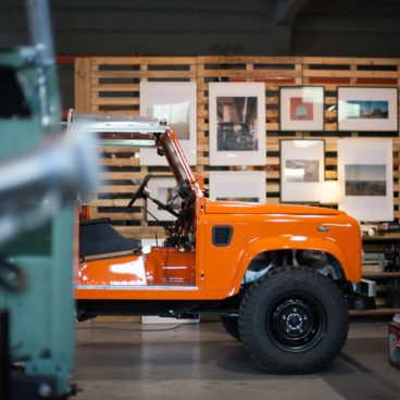 Cool And Vintage Land Rover Build