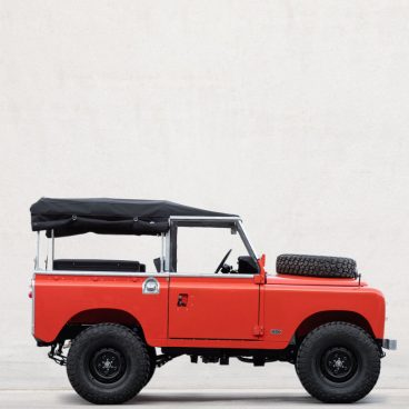 Cool And Vintage Land Rover