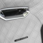 Urban Automotive SVR White Seat Badge